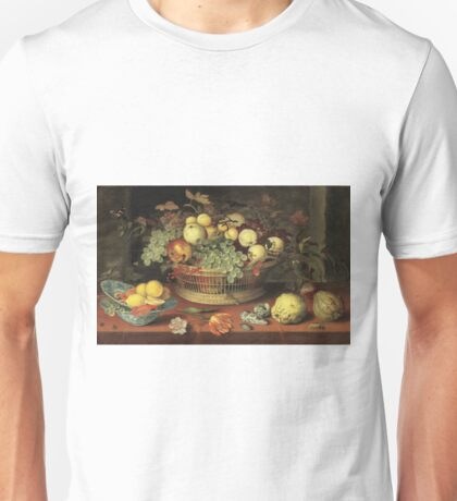 Balthasar Van Der Ast -Still Life Of Flowers Unisex T-Shirt