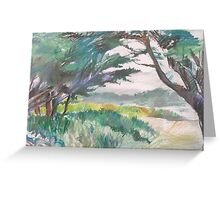 Carmel River Greeting Card