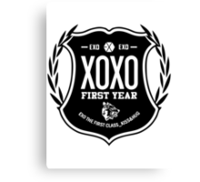 Exo XOXO First Year B Canvas Print