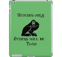 Others will be Toad iPad Case/Skin