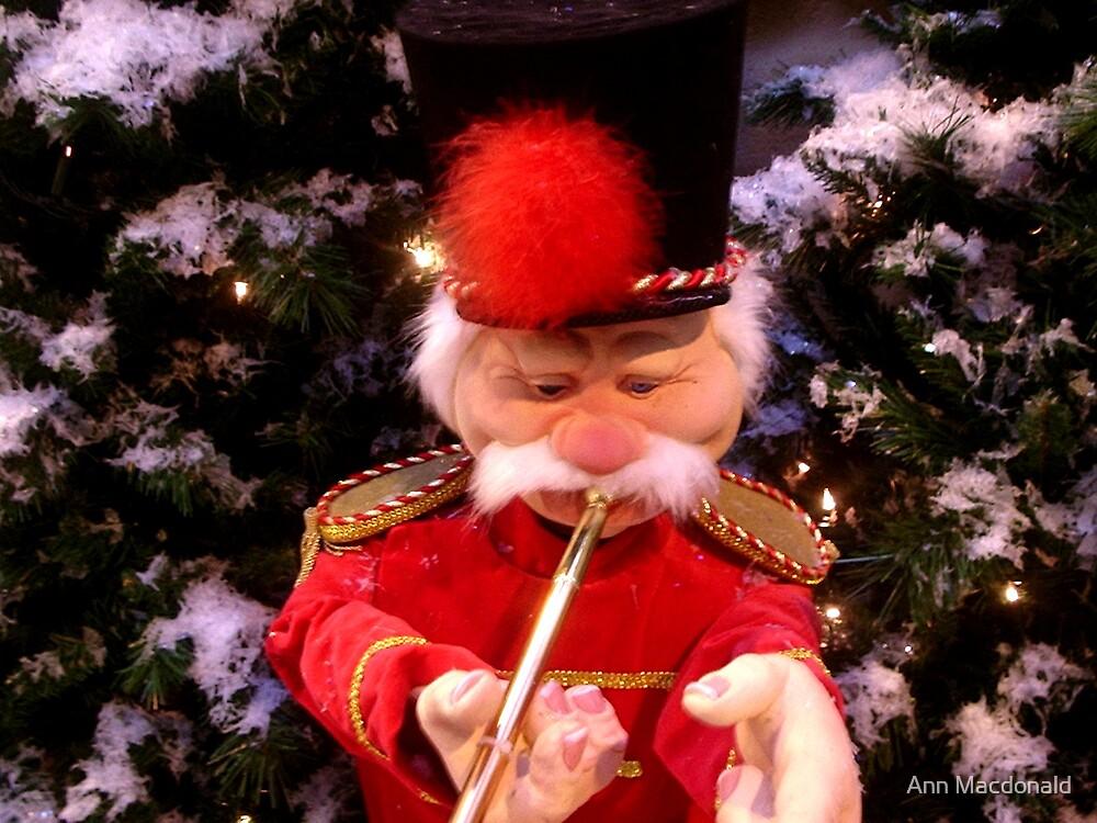 Trumpet man by Ann Macdonald