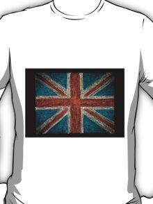 United Kingdom (British Union jack) flag T-Shirt