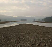 Derwent Water, Lake District, England by Julia  Massey