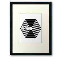 Exo OVERDOSE Framed Print