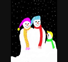 Snow Family Womens Fitted T-Shirt