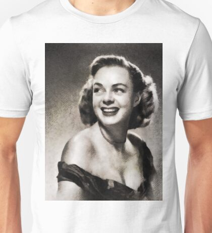 June Lockhart, Vintage Actress Unisex T-Shirt