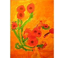 Sun Flowers Photographic Print