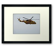 Rescue helicopter #2 Framed Print