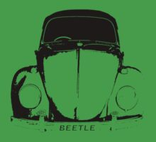 VW Beetle - Black by melodyart