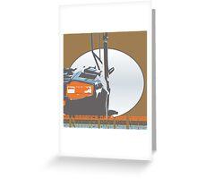 DLEDMV - LamboDoor Greeting Card