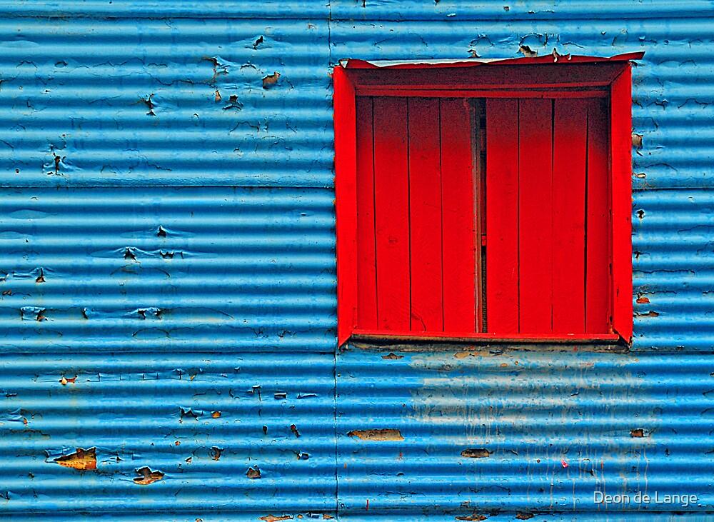 Red Window by Deon de Lange