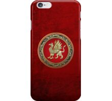 Sacred Gold Griffin  iPhone Case/Skin