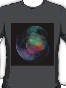 Abstract Art Space Shell T-Shirt