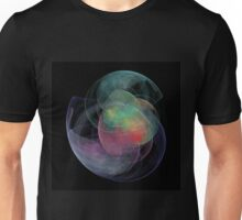 Abstract Art Space Shell Unisex T-Shirt