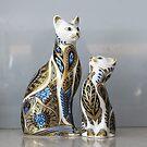 China Cats by Christina Backus