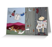 Wildago's Edmund de John Greeting Card