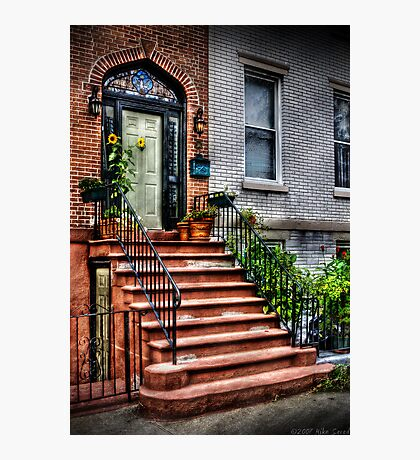 The red staircase  Photographic Print