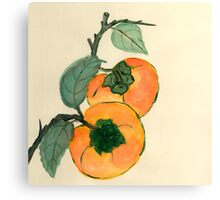 Persimmon from Amphai Masquelier Canvas Print