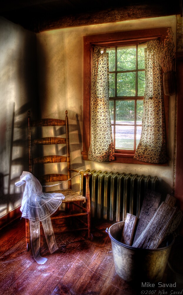 My Grandmother's Rocking Chair by Mike  Savad