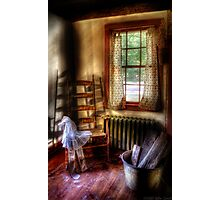 My Grandmother's Rocking Chair Photographic Print
