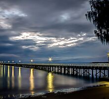Morning at Urangan Pier by Brent Randall