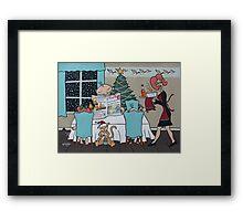 John's Christmas Dream Framed Print