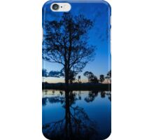 The sunset blues iPhone Case/Skin