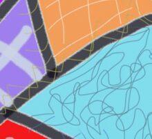 Crazy quilt, cheater  Sticker