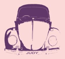 VW Beetle -  Purple Judy One Piece - Short Sleeve