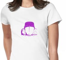 VW Beetle -  Purple Judy Womens Fitted T-Shirt