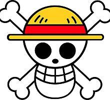 Luffy Flag/ Straw Hat Pirates - One piece  by Likyro