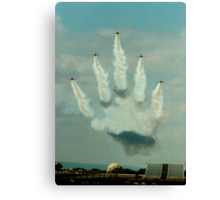 The hand of ???? Canvas Print
