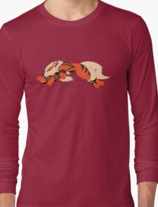 Cool Running Arcanine  Long Sleeve T-Shirt