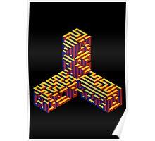 Caltrop Maze Poster