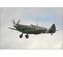Spitfire landing Photographic Print