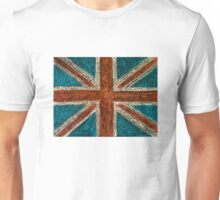 United Kingdom (British Union jack) flag Unisex T-Shirt