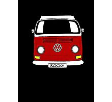 ROCKY the VW Kombi Photographic Print