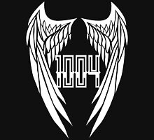 BAP LOGO 1004 Angel Wings Womens Fitted T-Shirt