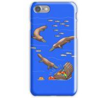 Platypus and Christmas Treasure iPhone Case/Skin