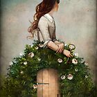 the key to her secret garden  by ChristianSchloe