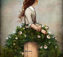 the key to her secret garden  by ChristianSchloe