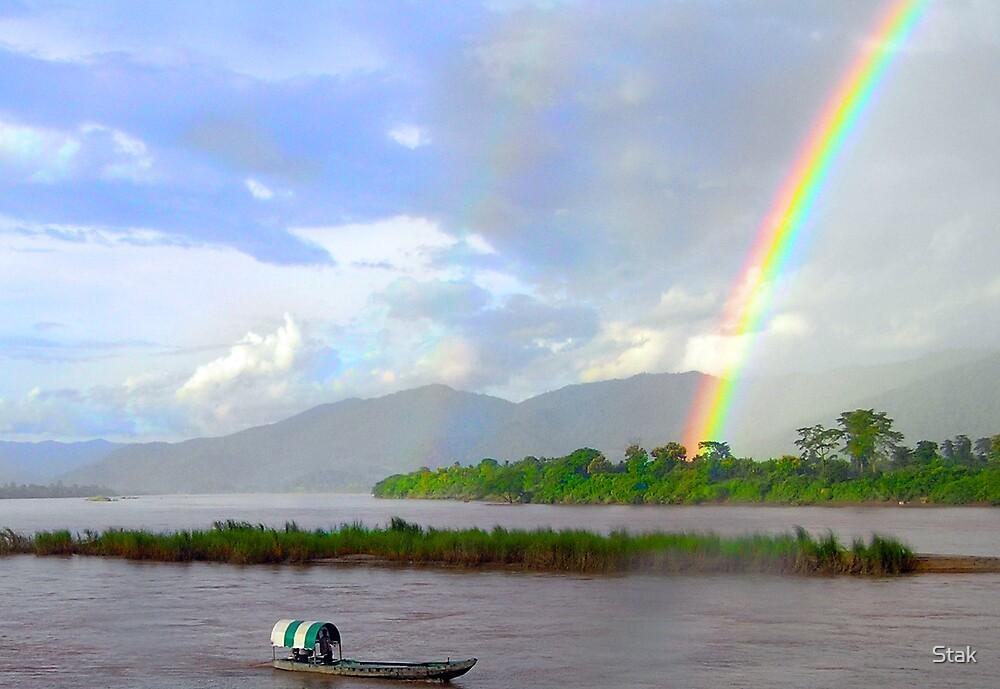 Mekong Rainbow by Stak