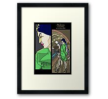 The Rogue Session - Cyd Starling - Miss January Framed Print
