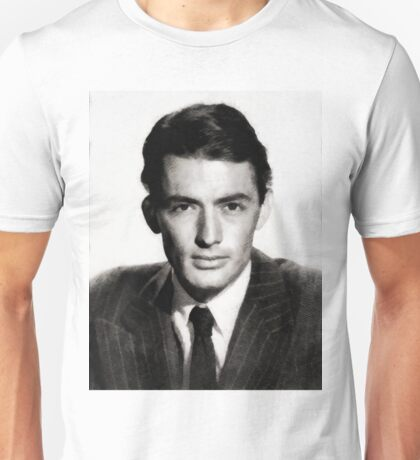 Gregory Peck, Vintage Hollywood Legend Unisex T-Shirt