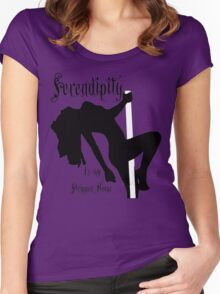 Serendipity Women's Fitted Scoop T-Shirt