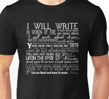 Words of Fire Unisex T-Shirt