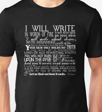 Words of Fire Unisex T-Shirt