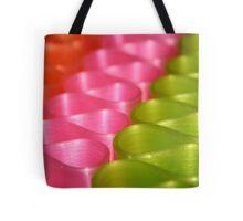 Ribbons & Curls Tote Bag