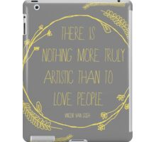 Truly Love People iPad Case/Skin