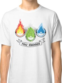 Pokemon - You Choose Classic T-Shirt